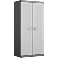 Шкаф из пластика Logico High Cabinet XL (Лоджико Хай Кабинет Икс Эль), цвет серый