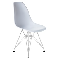Стул Eames Chrome Лого-М LMZL-PP623A, цвет: белый