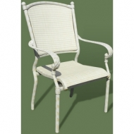 Кресло Renissance Arm Chair sdsl05be белого цвета